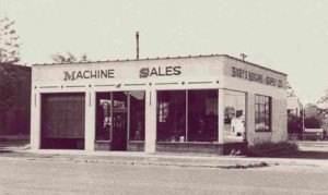 THE ORIGINAL BIXBY MACHINE and SUPPLY CO. IN 1946